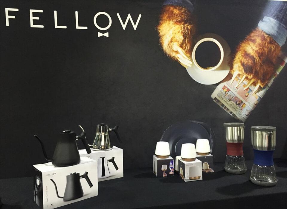 fellow由少数对产品设计着迷的咖啡狂热分子创立,初衷就是把手绘本上